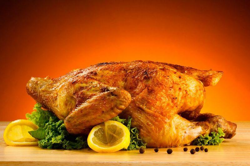 курица замоченная в пиве