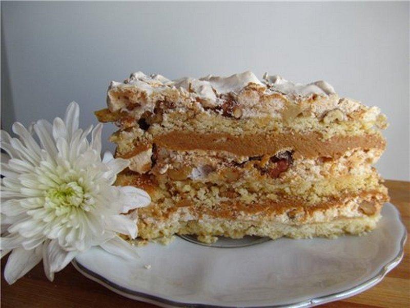 Рецепт торта прекрасная мария с фото