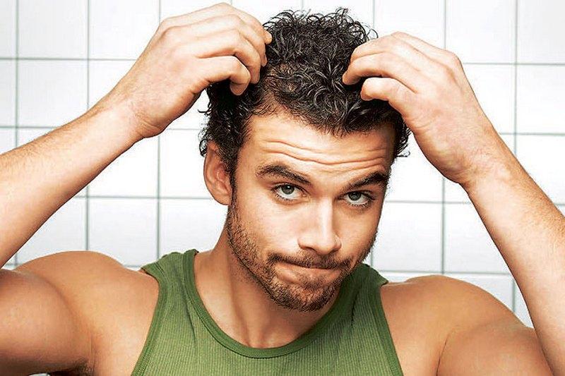 Как мужчине сделать волосы послушными