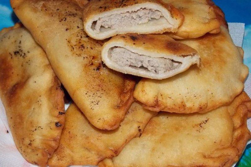 Лучшее тесто для чебуреков рецепт с фото