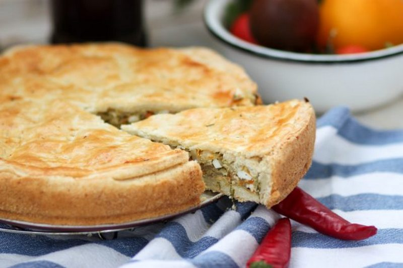Бездрожжевые пироги с капустой с фото пошагово