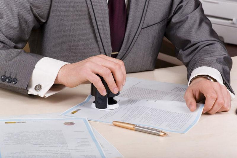 Печать для документов ставится ли на договорах