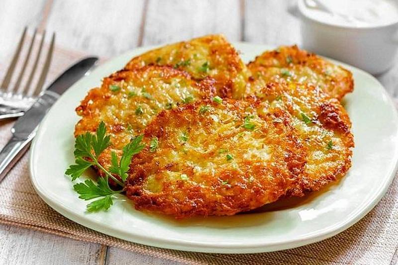 драники классические из картошки рецепт с фото